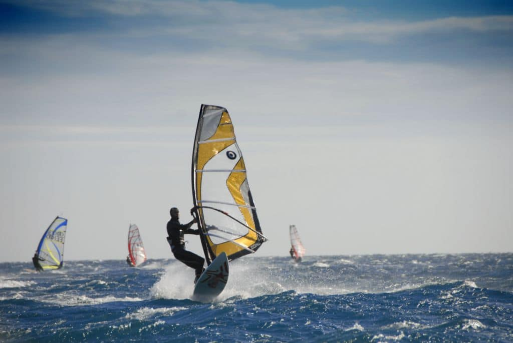 Windsurfing in Medulin