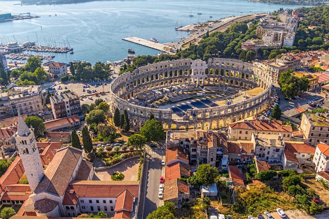 Historical Town Pula